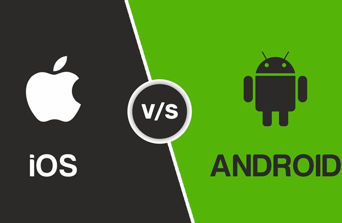 بين الاندرويد و iOS - موبي زووم
