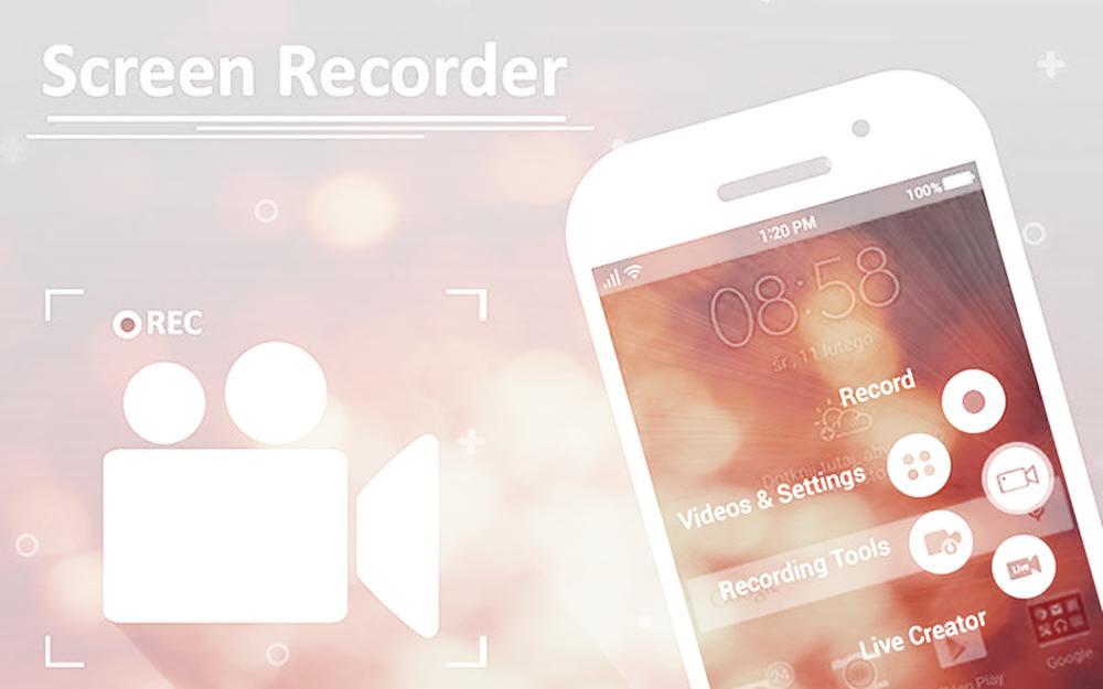 تسجيل الشاشة فيديو للاندرويد - موبي زووم