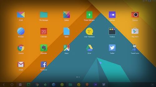 Remix OS - موبي زووم