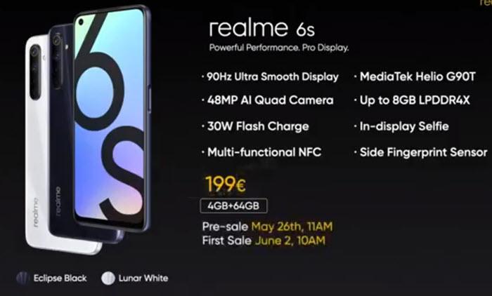 Realme 6S - موبي زووم