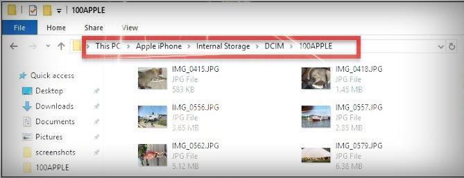 الصور من الايفون للكمبيوتر بدون برامج - موبي زووم