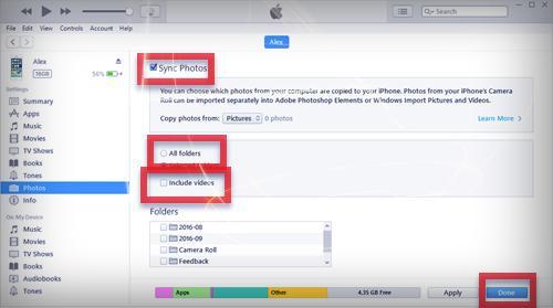 الصور والفيديو من الايفون الى الكمبيوتر ببرنامج iTunes - موبي زووم