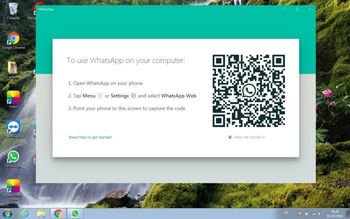 برنامج واتساب ويب للكمبيوتر - موبي زووم