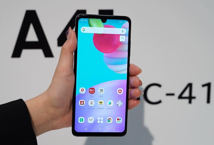 Samsung Galaxy A41 - موبي زووم