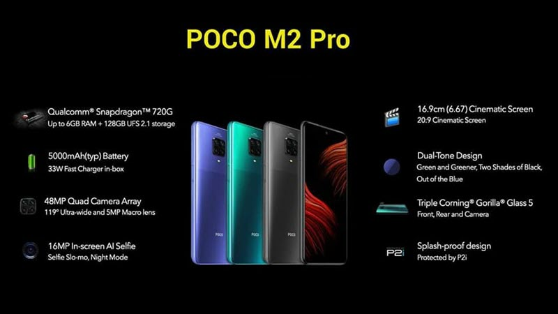 Xiaomi Poco M2 Pro - موبي زووم