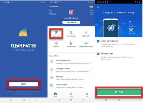 Screenshot 20200716 205507 Clean Master - موبي زووم