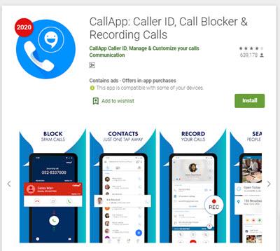 CallApp - موبي زووم