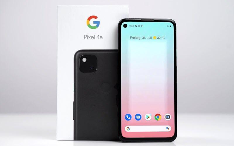 Google Pixel 4a - موبي زووم