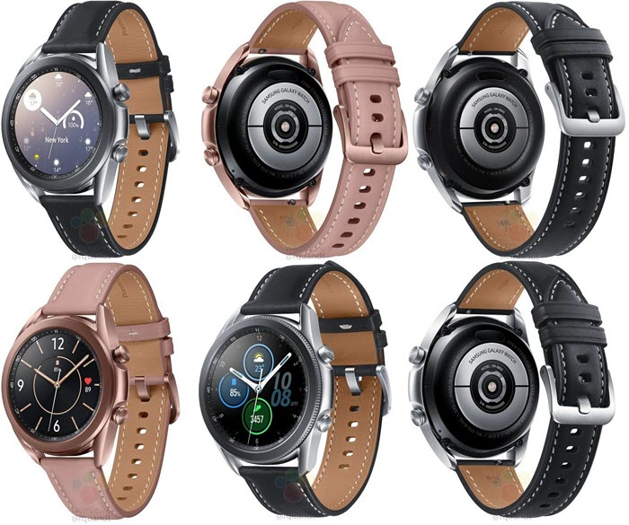 ساعة Samsung Galaxy Watch 3 - موبي زووم
