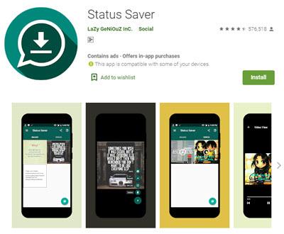 Status Saver - موبي زووم