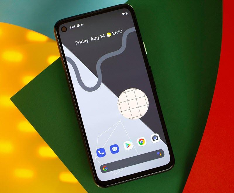 Google Pixel 5 - موبي زووم