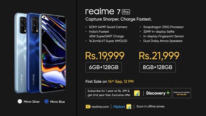 Realme 7 Pro - موبي زووم