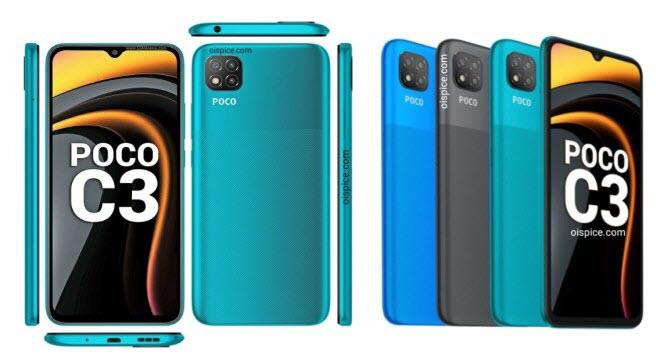 Xiaomi Poco C3 - موبي زووم