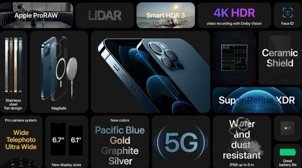 شراء جوال Apple iPhone 12 Pro - موبي زووم