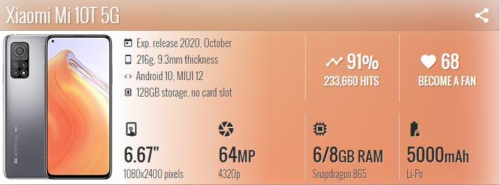 Xiaomi Mi 10T - موبي زووم