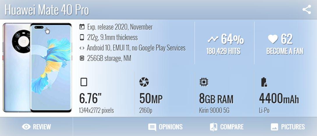 Huawei Mate 40 Pro 1 - موبي زووم