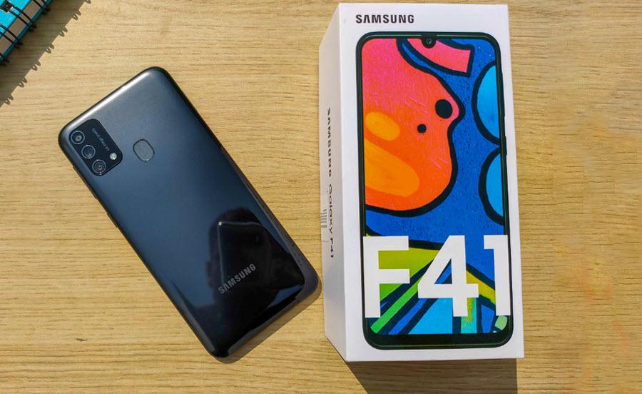 Samsung Galaxy F41 - موبي زووم