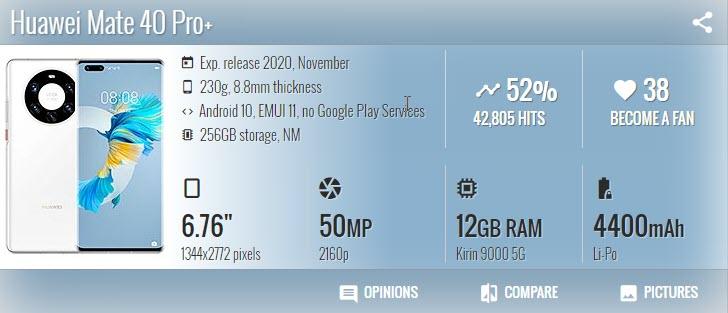Huawei Mate 40 Pro Plus - موبي زووم