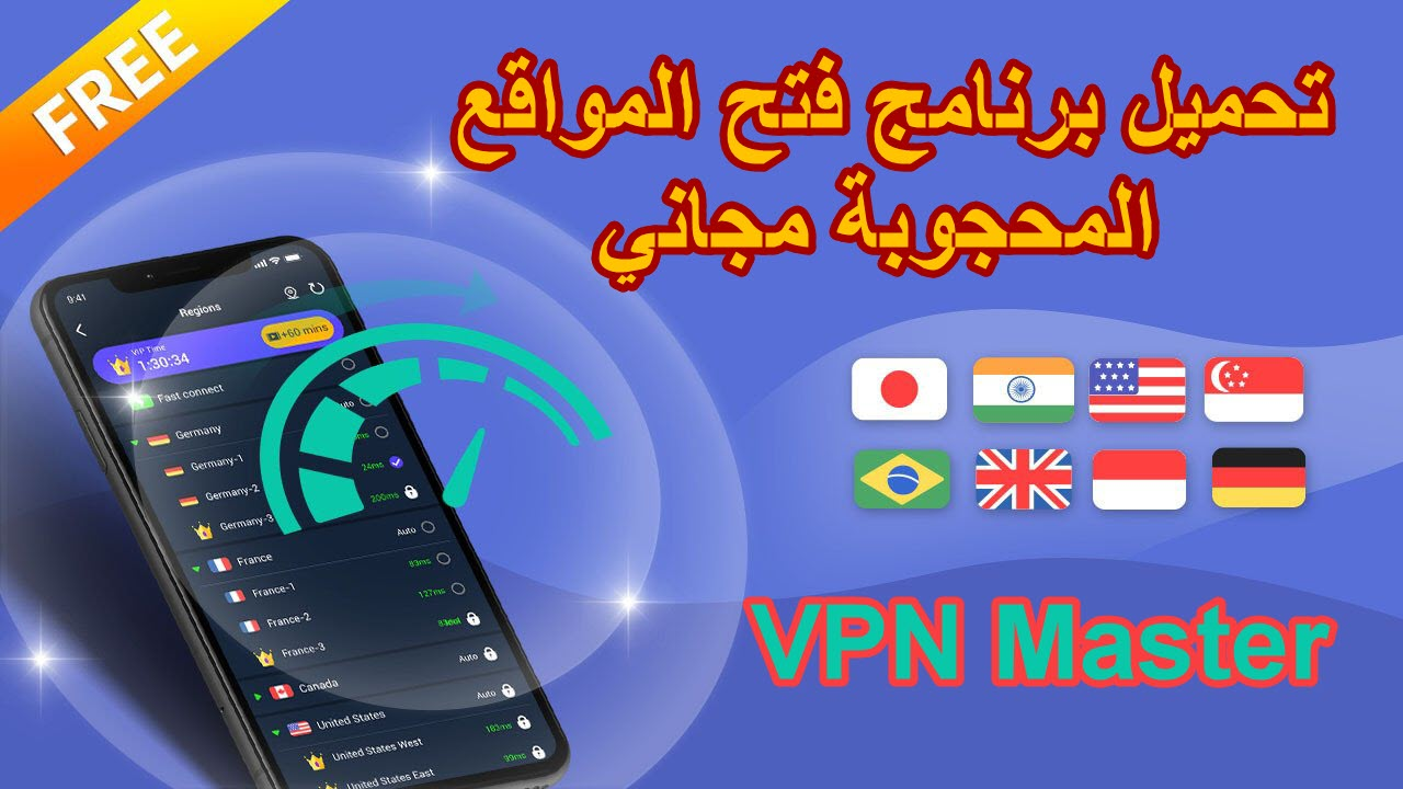 VPN Master Unlimited VPN Proxy - موبي زووم