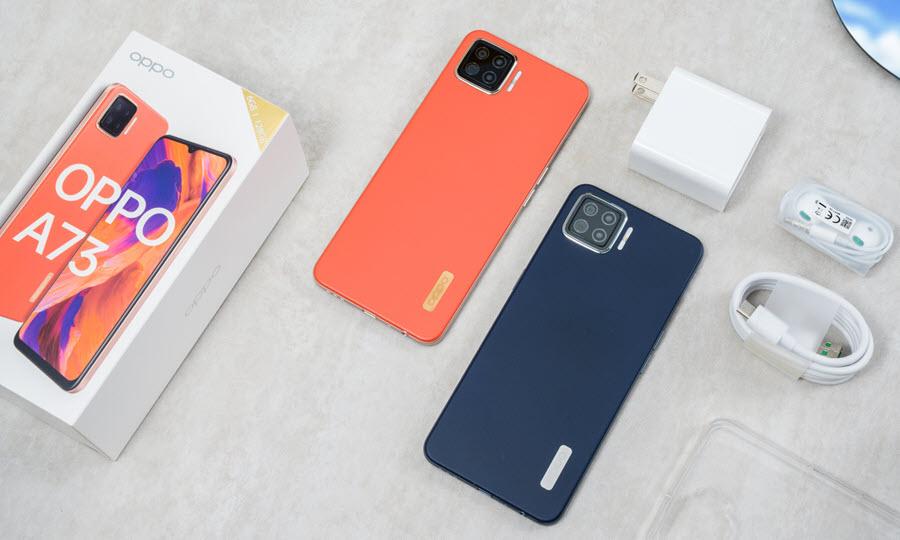 هاتف Oppo A73 - موبي زووم