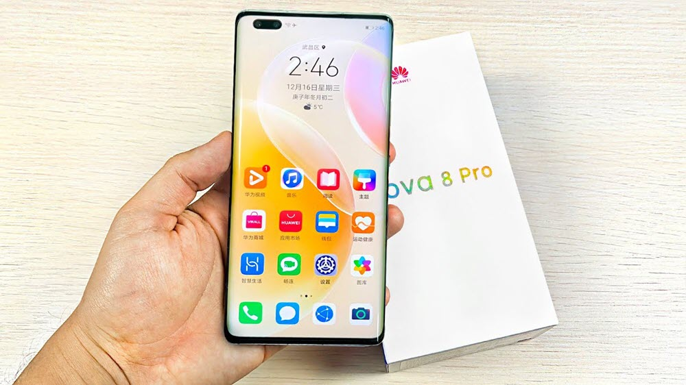 Huawei nova 8 Pro - موبي زووم