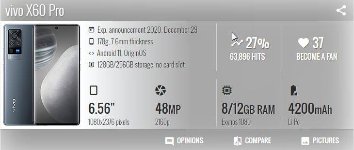 vivo X60 Pro - موبي زووم