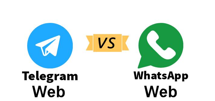 تليجرام ويب والواتساب ويب - موبي زووم