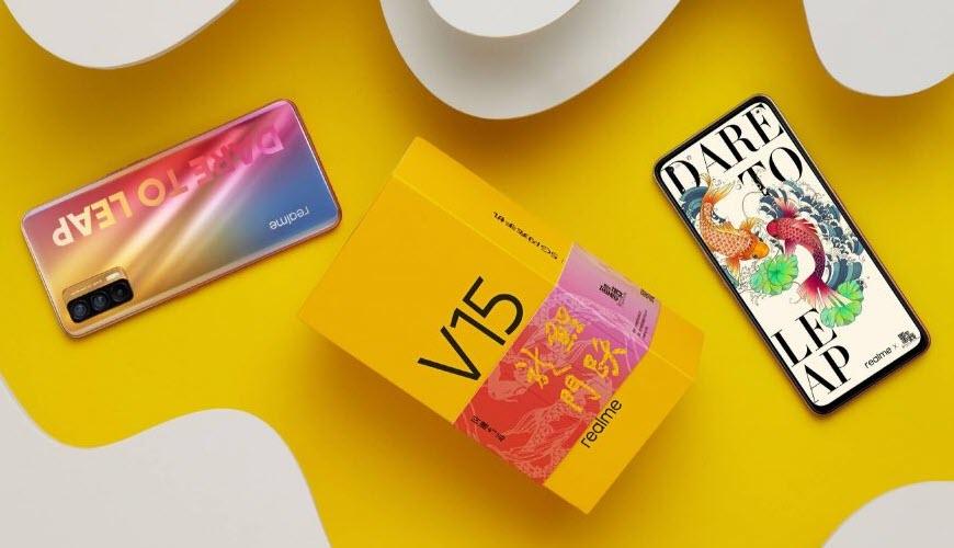هاتف Realme V15 - موبي زووم