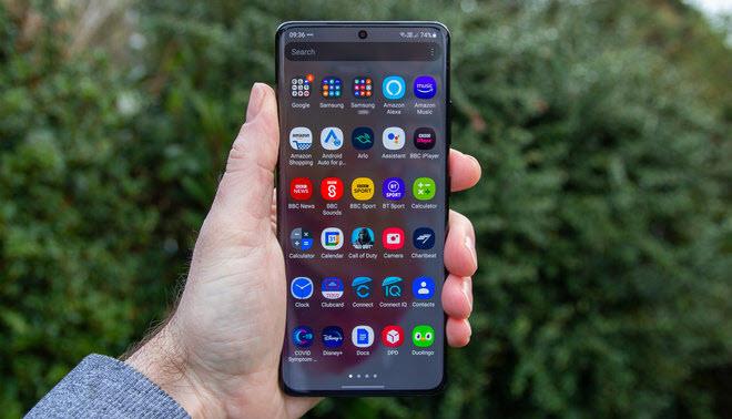 هاتف Samsung Galaxy S21 Ultra - موبي زووم