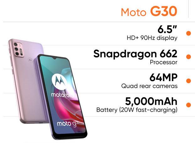 شراء Motorola Moto G30 - موبي زووم