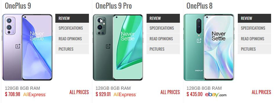 بين موبايل Oneplus 9 VS Oneplus 8 VS OnePlus 9 pro - موبي زووم