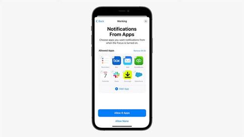 الإشعارات في الأيفون iOS 15 - موبي زووم