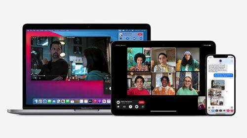 الشاشة الايفون في iOS 15 - موبي زووم