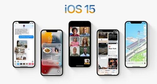 تحديث iOS 15 - موبي زووم