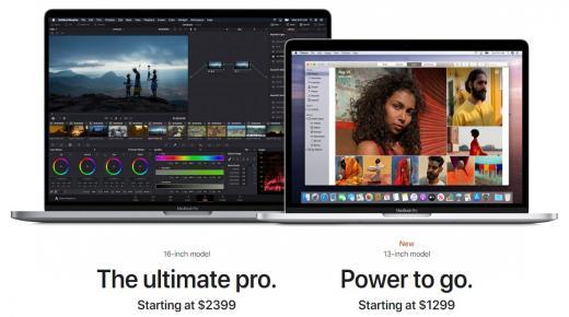 ماك بوك برو 2020 : سعر ومواصفات لاب توب MacBook Pro 16 +13 والفرق بينهم