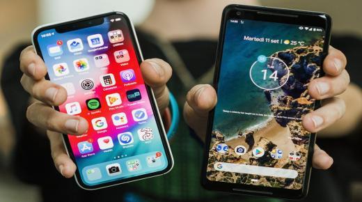 ماهو android و iOS والفرق بين نظام تشغيل الاندرويد والايفون وأيهما أفضل؟