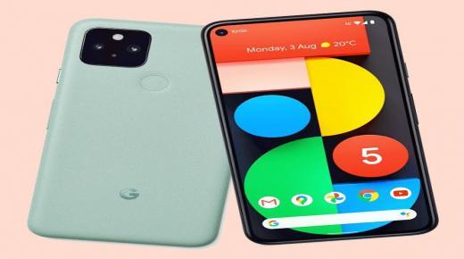 سعر ومواصفات Google Pixel 5
