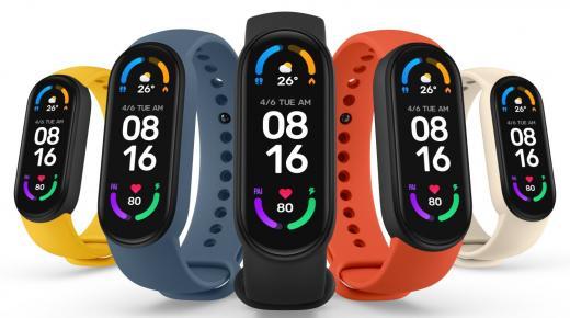 شاومي مي باند 6 : سعر ومواصفات سوار Xiaomi Mi Band 6 ساعة رياضية ذكية