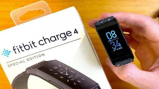 فيت بيت تشارج 4 : سعر ومواصفات ساعة fitbit charge 4 أفضل سوار رياضي