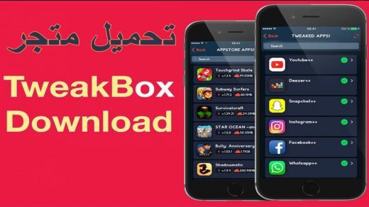 تويك بوكس : تحميل برنامج tweakbox 2021 للأيفون يدعم iOS 14 و iOS 13
